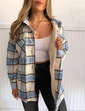 Capri Flannel (Blue)