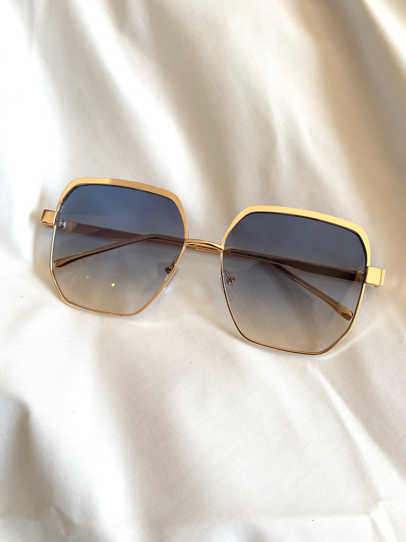 Ombre Gold Shades (Navy)