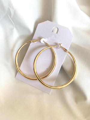 Chic Hoop Earring (Gold)