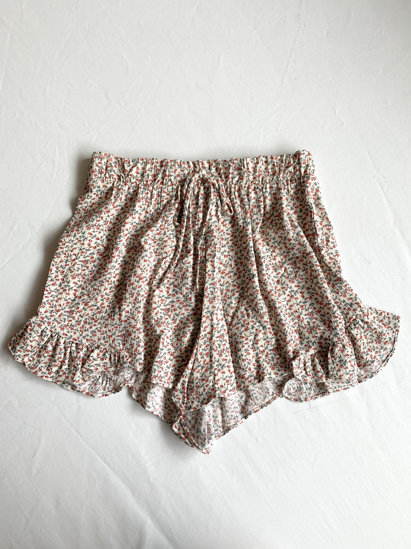 Marly Floral Shorts (Mauve)