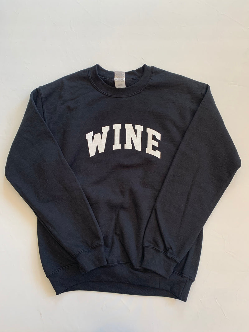 Wine Sweatshirt (Black)