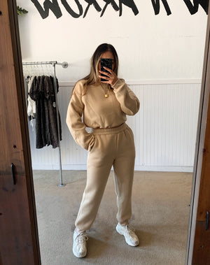 Jet Set Sweatpants (Khaki)