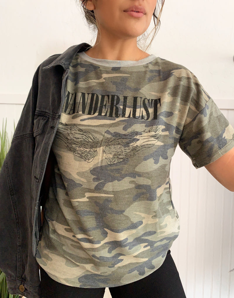 Wanderlust Graphic Tee