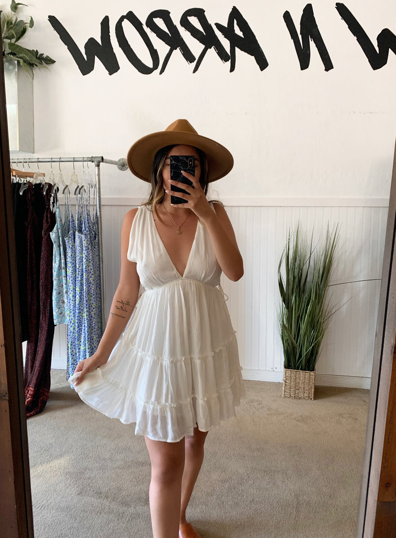 Vacay Dress (White)