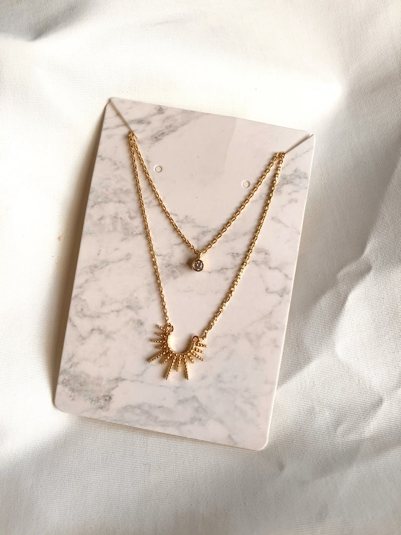 Sun-Ray Necklace