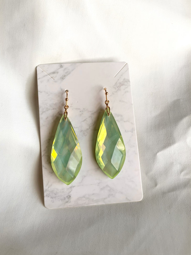 Tear Drop Earring (Mint)