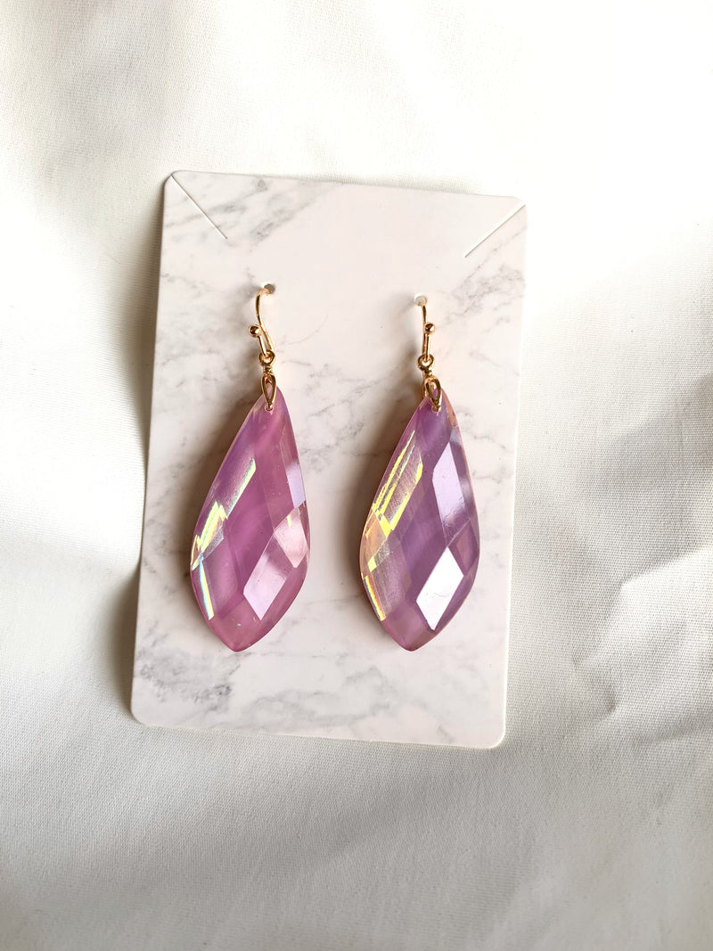 Tear Drop Earring (Lavender)