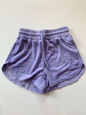 French Terry Shorts (Lavender)