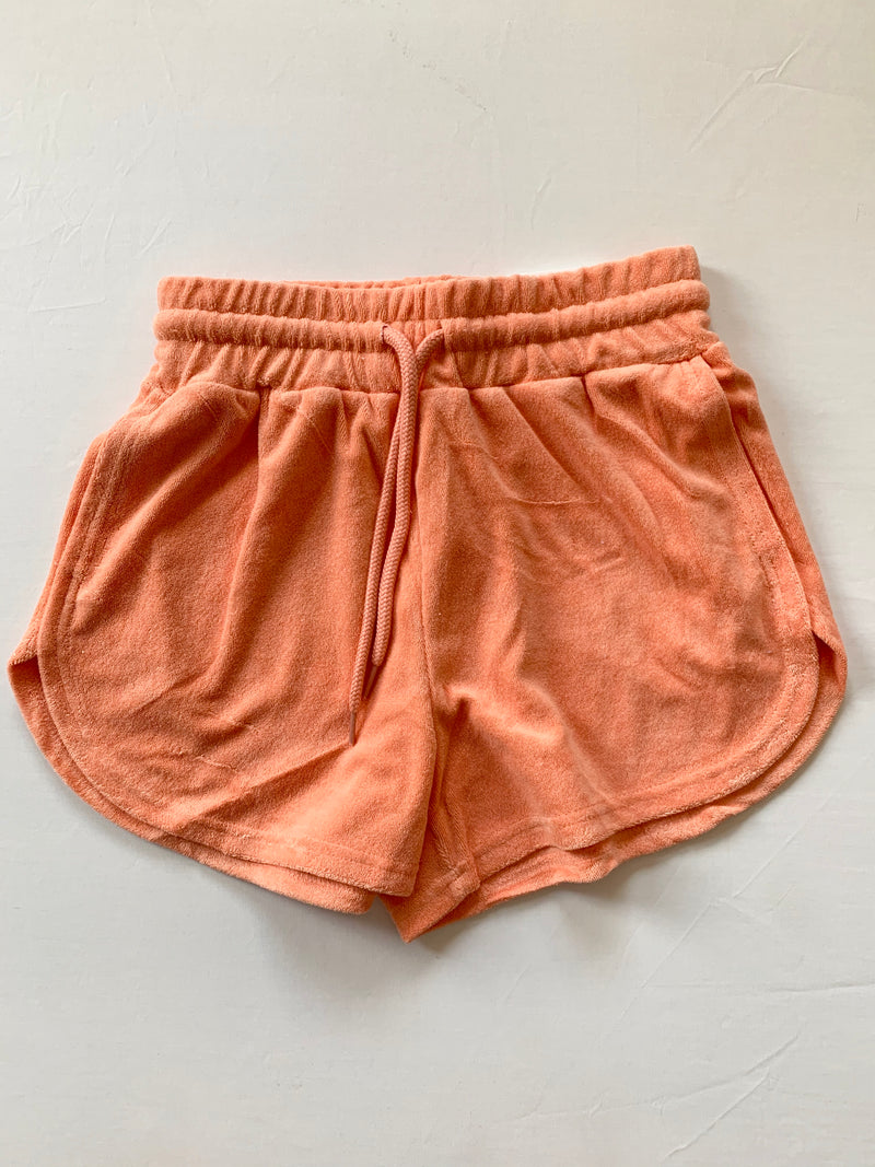 French Terry Shorts (Orange)