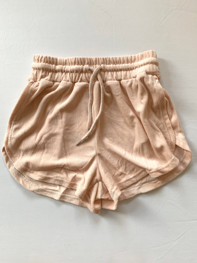 French Terry Shorts (Blush)