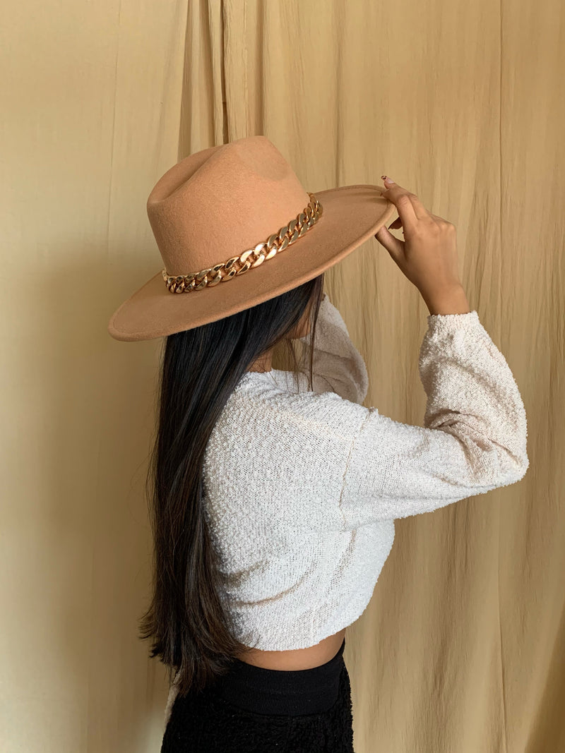 Roxy Hat (Tan)