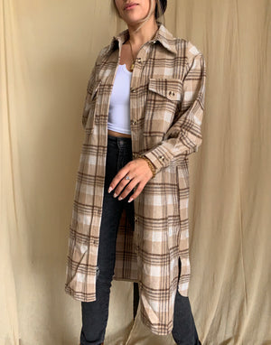 SF Plaid Shacket