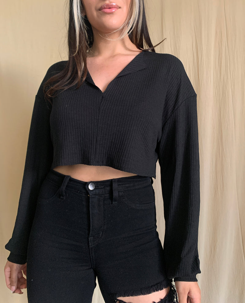 Maya Long Sleeve (Black)