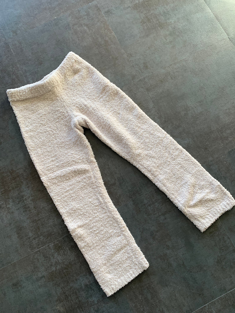 Plush Sweater Pant (Off White)