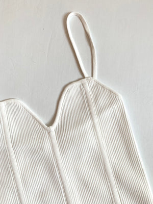 Sweetheart Top (Ivory)