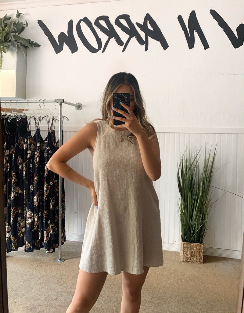 Cotton Mini Dress