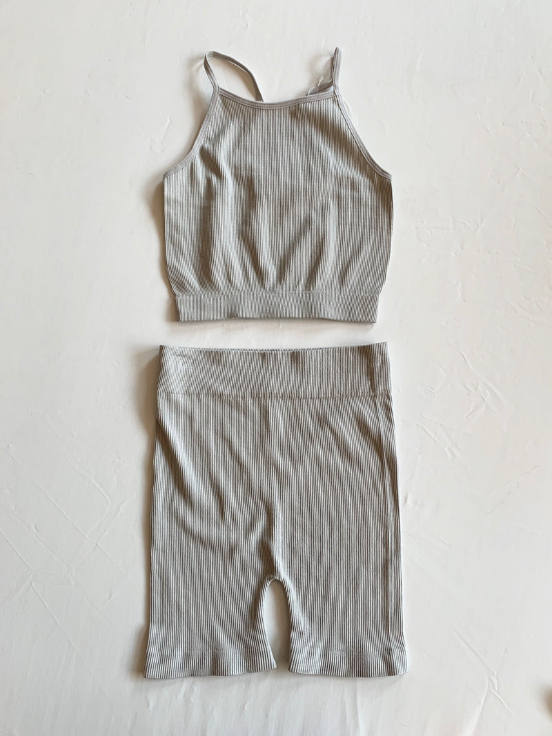 Beth Biker Set (Grey)