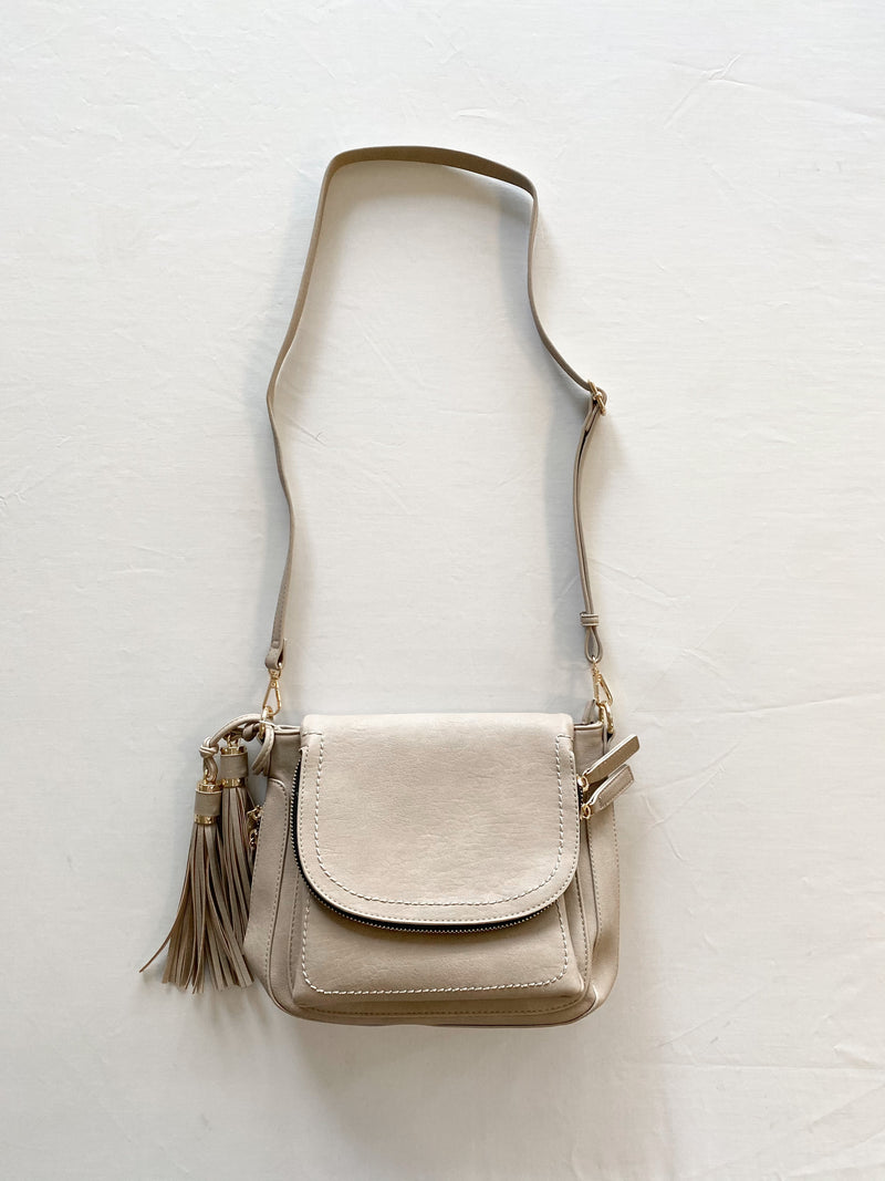 Marc Crossbody Bag (Taupe)