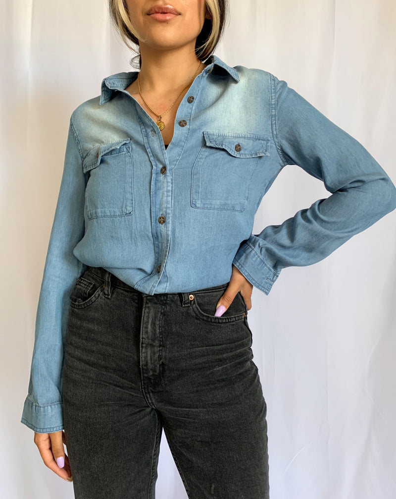 Heidi Top (Denim)
