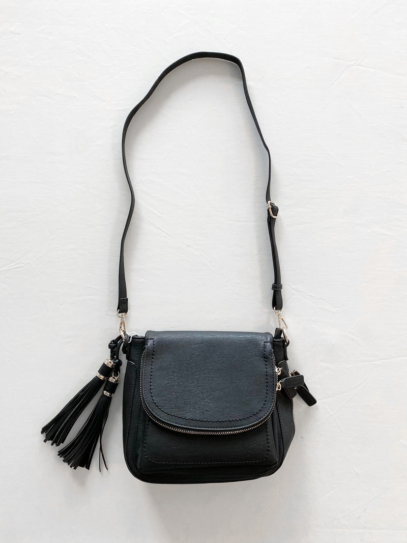 Marc Crossbody Bag (Black)