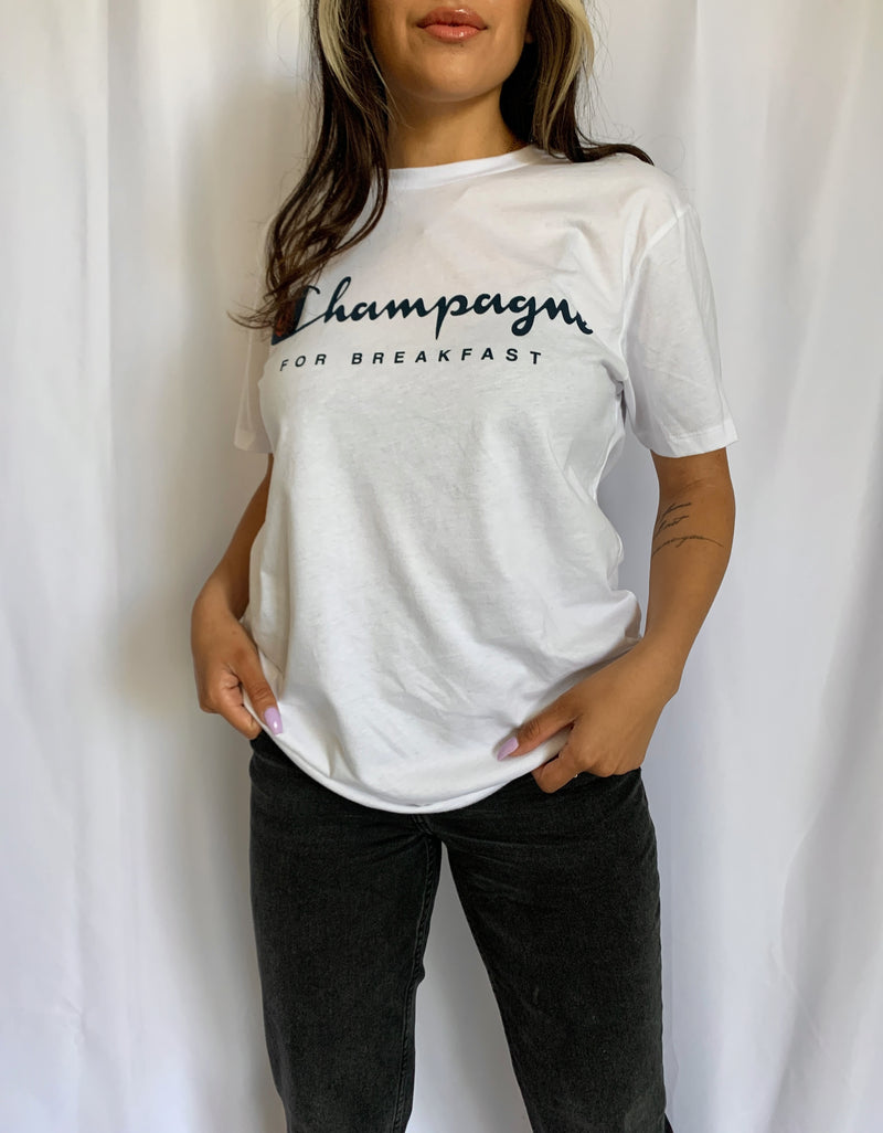 Champagne Graphic Tee