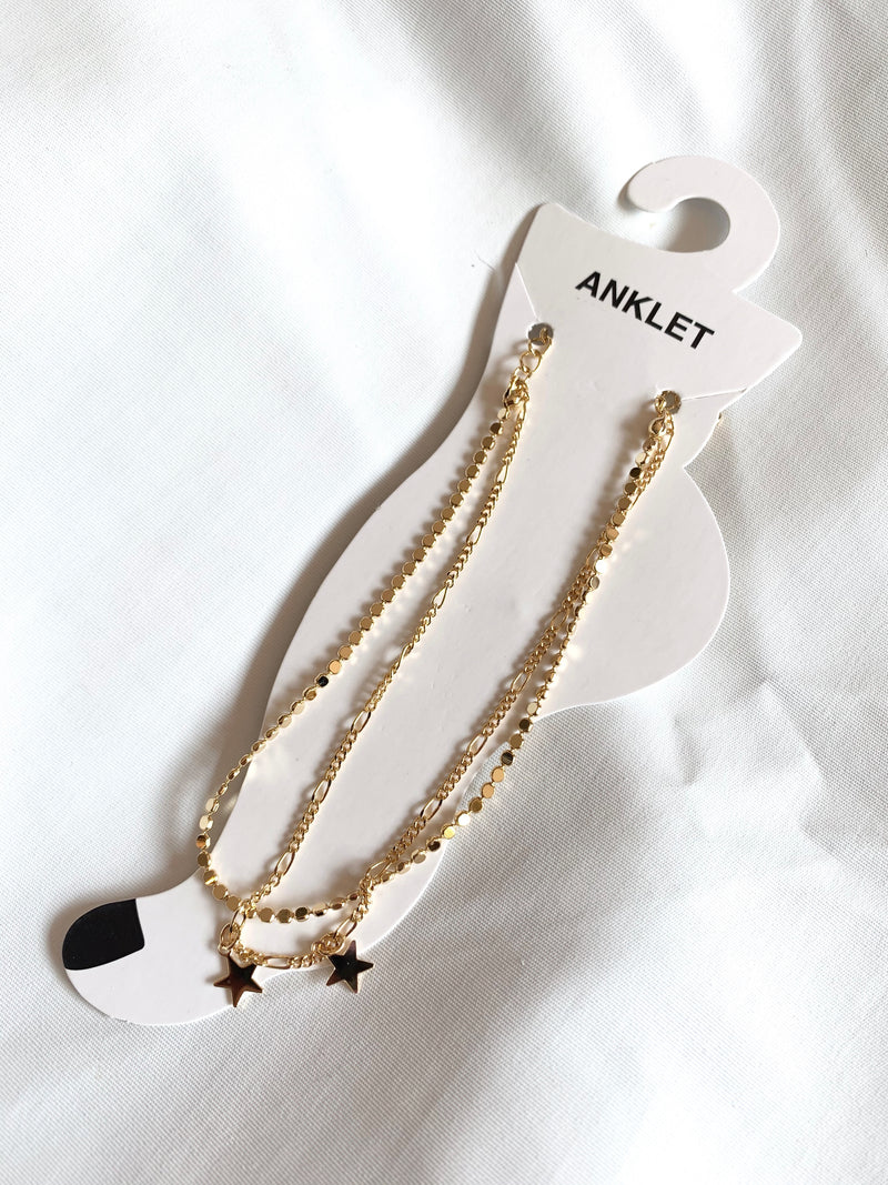 Madison Anklet Gold)