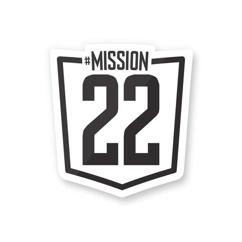 Mission 22 Sticker