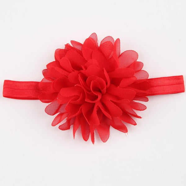 Ribbon Flower Headband - Charis Kids Boutique,   - Kids clothes
