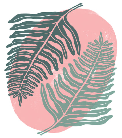 Ferns: A Love Story Print
