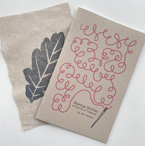 Booklet and sample fabric