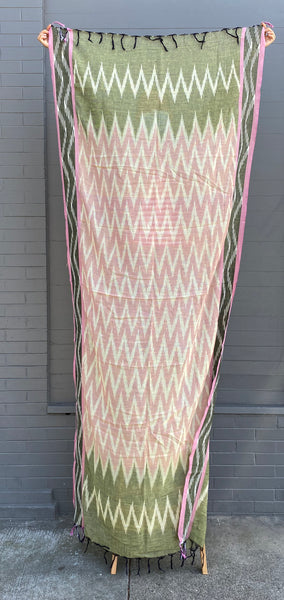 Ikat Scarf from India