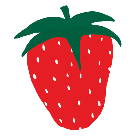 Giant Strawberry Print