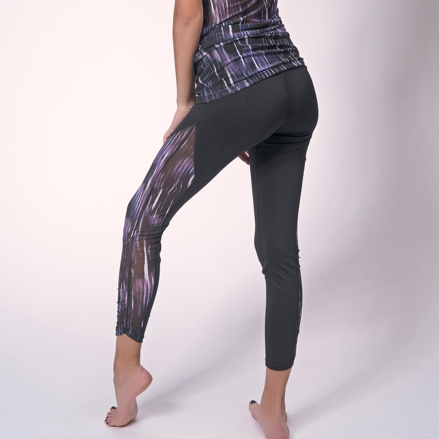 Warped Breezy Leggings | Shop Unique Leggings At Grit & Zest