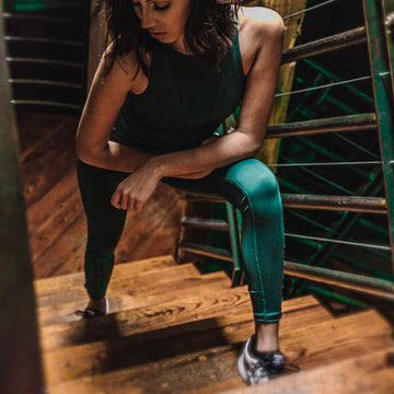 Emerald Breezy Leggings | Select US Orders Ship Free | Grit & Zest