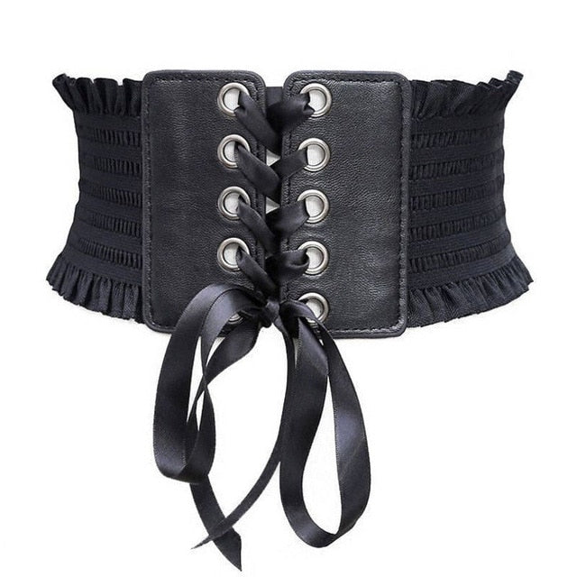 Soft PU Leather Waistband - Love Me