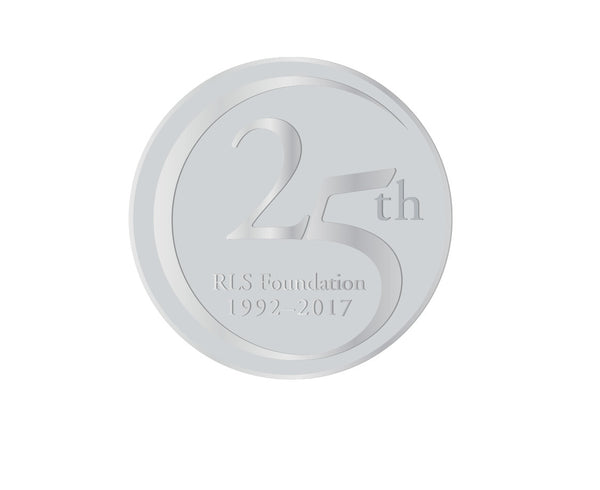 25th Anniversary Silver Pin
