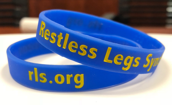 Blue RLS Wristbands