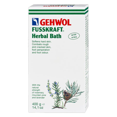 Foot care products-GEHWOL FUSSKRAFT Herbal Bath