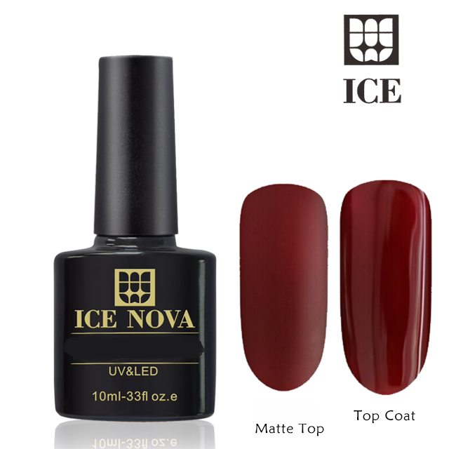 Artpro Nail Manicure Ice Nova - Gel Nail Polish - Top Coat (Wipe Off)