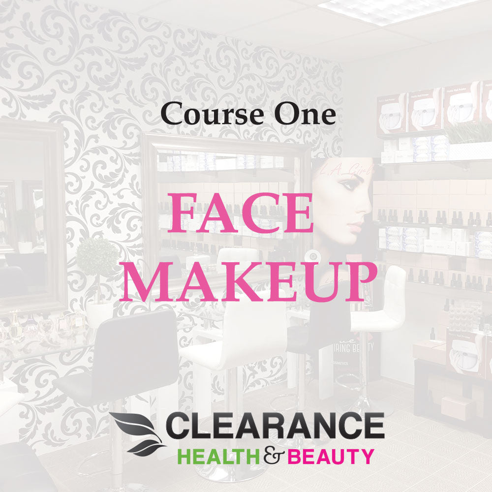 Clearance Health & Beauty Course One: Face Makeup