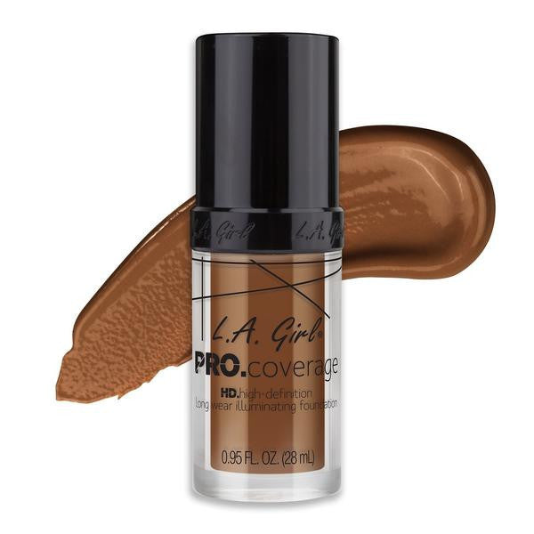 La Girl Makeup LA Girl Full Coverage Illuminating Foundation - Coffee