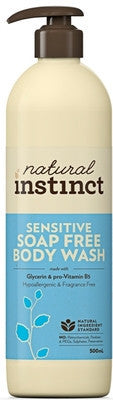 Natural Instict Skincare - Body Sensitive Body Wash - 500ml