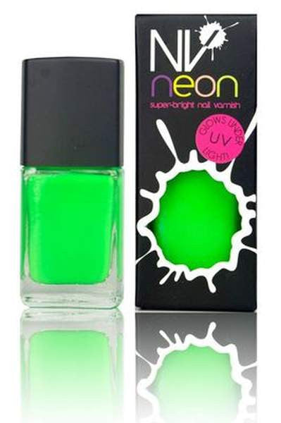 NV Manicure Nail Polish - Electric Lime