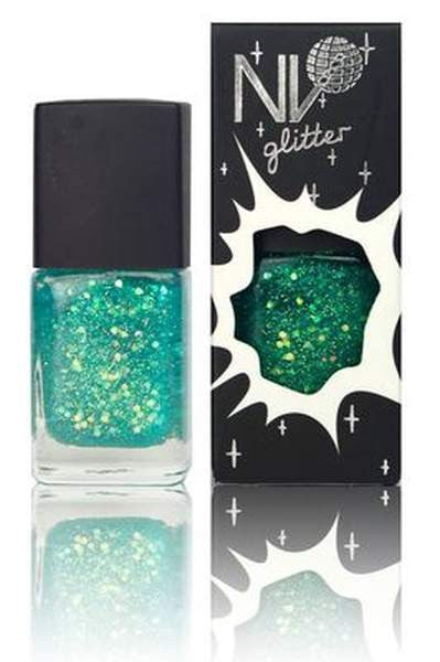 NV Manicure Nail Polish - Glitter Ice Queen