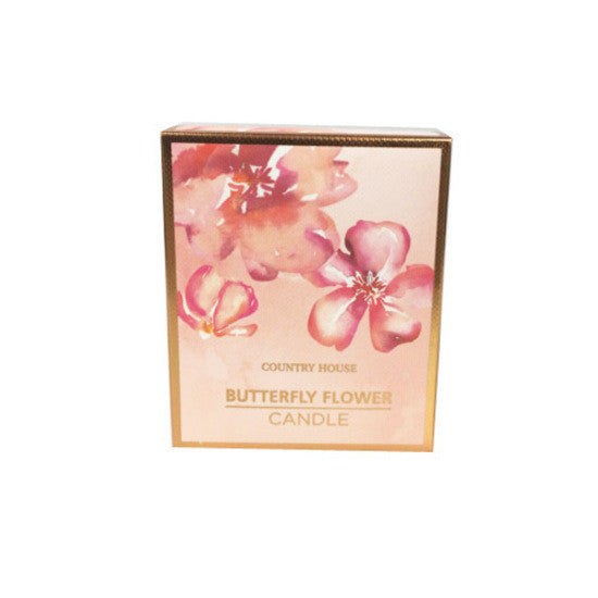 Pharmacy Brands Gift Set Country House Scented Candle - Butterfly Flower