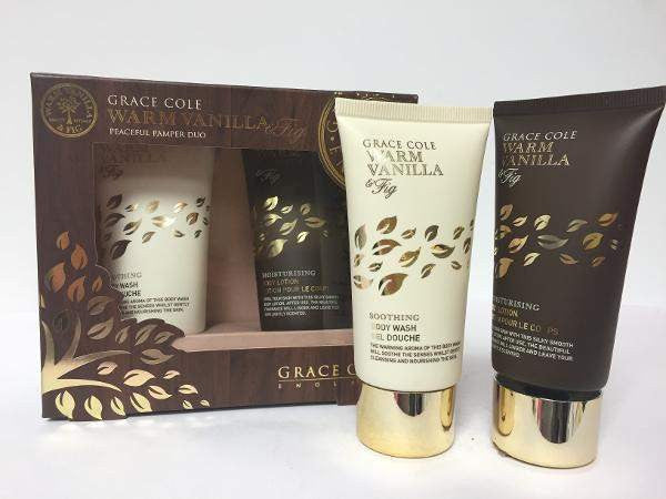 Pharmacy Brands Gift Set Grace Cole - Warm Vanilla & Fig