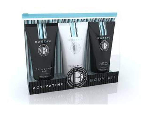 Pharmacy Brands Mens Belle & Whistle Activating Body Kit Gift Pack