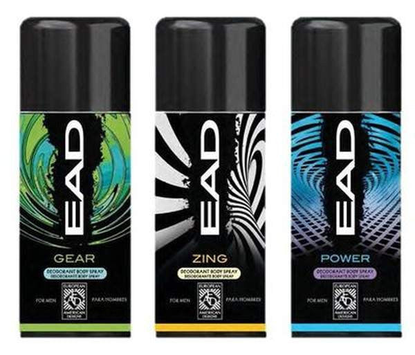 Pharmacy Brands Perfume & Body Sprays EAD Men's Body Spray (Zing, White)