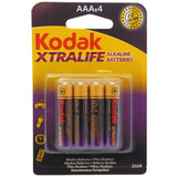 Pharmacy Brands Pharamcy & Health Kodak - Xtralife Alkaline Batteries (AAA x 4)