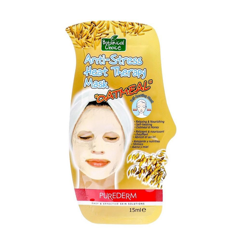 Pharmacy Brands Skincare - Face BC Anti-Stress Heat therapy Mask - Oatmeal